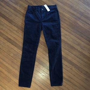 Ann Taylor The Skinny velvet jeans